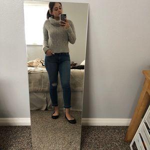 Chunky wool turtleneck sweater